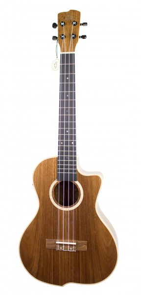 Swing Baritone Pacific Walnut Ukulele mit Cut & EQ